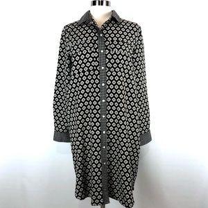 NWOT Loft shirt dress tunic M